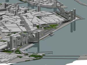 maquete virtual do projeto recife-olinda