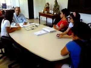Reunião no IPHAN
