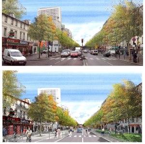 Reforma da avenida Jean-Jaurès