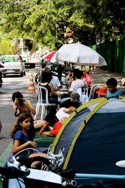 Visão da Vaga Viva - Dia Mundial Sem Carro - Recife 2012