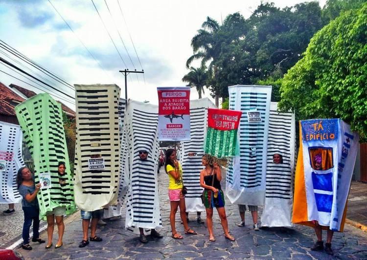 Empatando a rua. Foto: Manu Ubertino