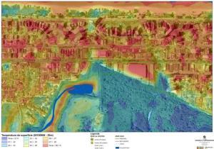 Diferenças de calor em Boa Viagem, entre áreas adensadas e áreas verdes preservadas