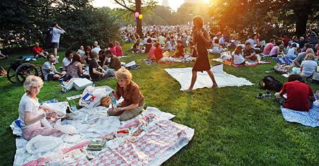 Se as regras da EMLURB valessem para o Central Park, essa cena não seria possível...